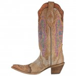 Corral Heart & Lace Cowboy Boots