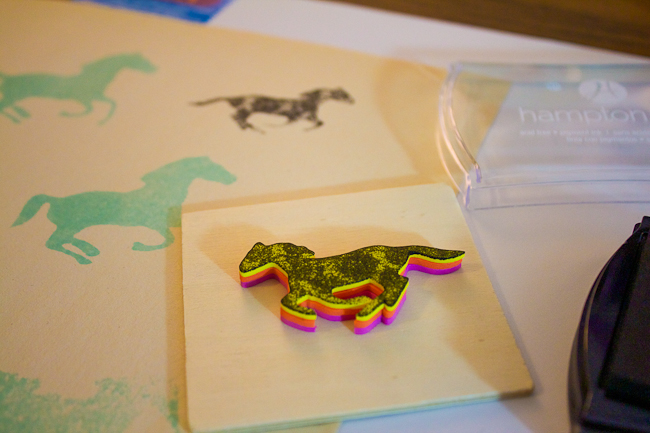 DIY: Horse Stamps