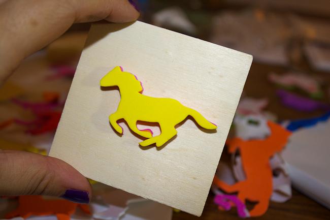 DIY Horse Stamp