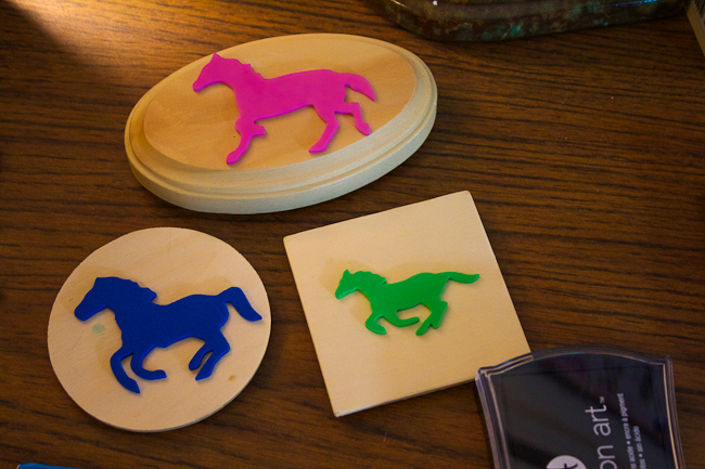 DIY Horse Stamps finished