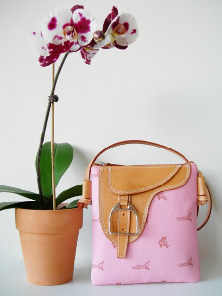 "La Espuela bag in pink the ""Carly"""