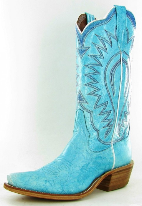 turquoise Rios of Mercedes cowboy boots