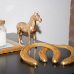 How to Style: Glittery Gold Horseshoes