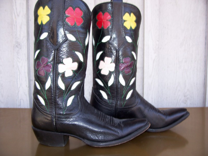vintage boots from Old Sole Boot Company