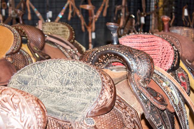 Double J Saddlery saddles
