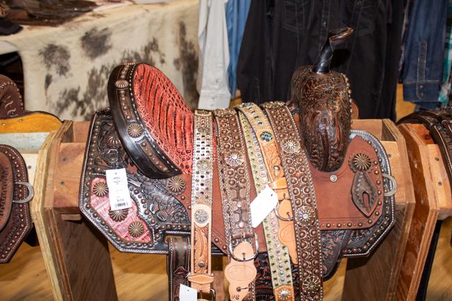 Double J Saddlery Pozzi Pro and belts