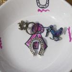 DIY: My Porcelain Paint Jewelry Display
