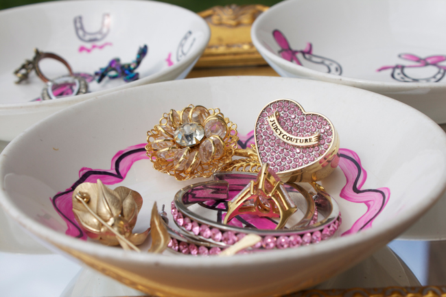 equine jewelry dishes and trinkets
