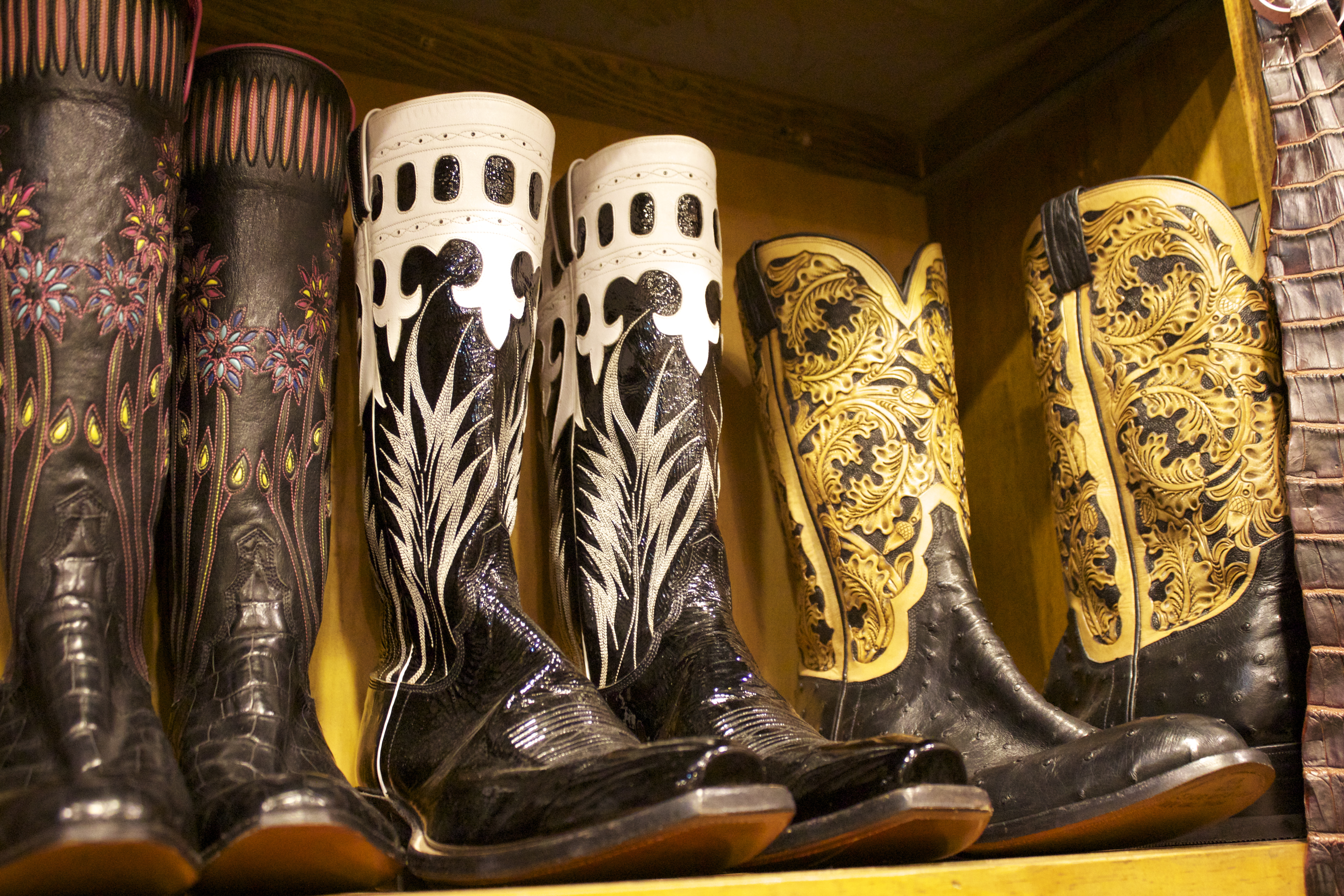 M.L. Leddy's Cowboy boots at Rodeo Houston | Horses & Heels