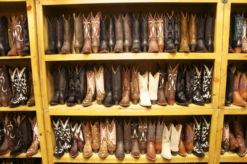 M.L. Leddy's Cowboy boots at Rodeo Houston