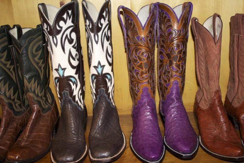 M.L. Leddy's Cowboy boots at Rodeo Houston