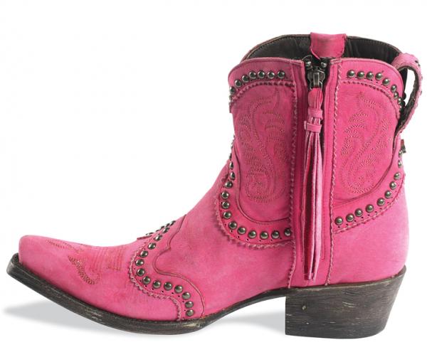 Garcitas Hot Pink Boots