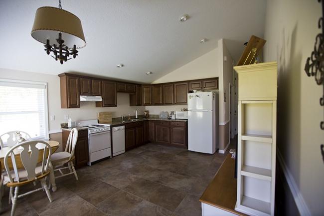 The kitchen barn apartment