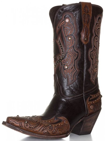 Lucchese Alison Snip Toe cowboy boots