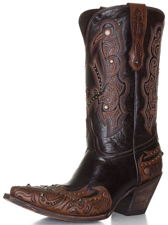 Lucchese Allison Snip Toe Cowboy Boots