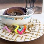DIY: Porcelain Paint Jewelry Display