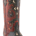 Lucchese Scarlet Studded Cowboy Boots