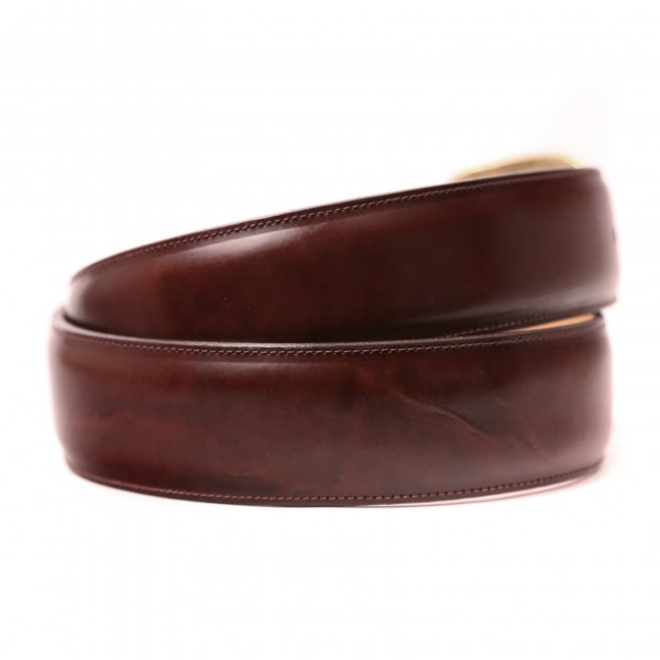 Burbon and Rye Calf Belt