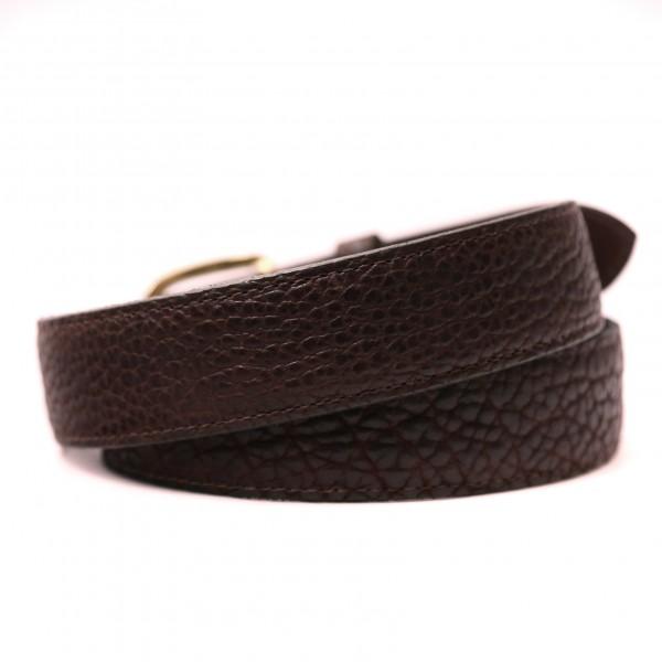 Chocolate Bison Belt