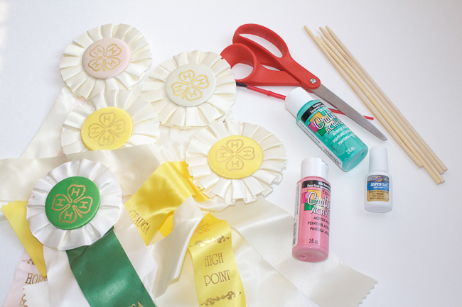 DIY Ribbon Decor Supplies
