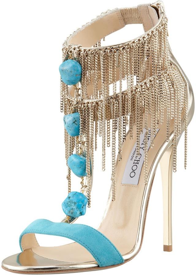 Jimmy Choo Belle T-Strap Sandal