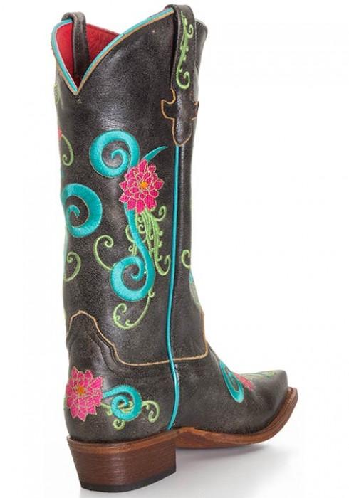 Anderson Beans Macie Bean Black Cracktacular cowboy boots
