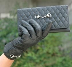 Lilo snaffle bit wallet