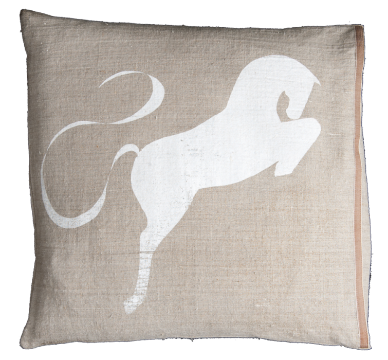 Bucephalus pillow by Approximate Notions