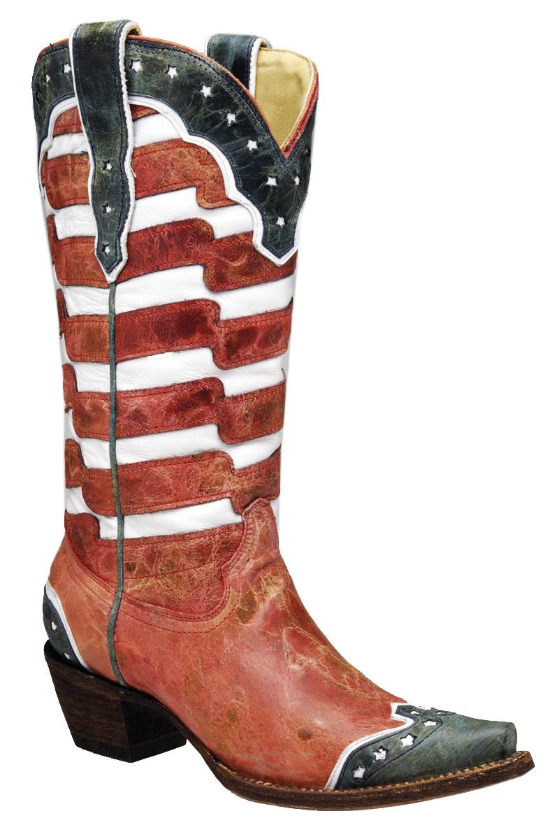 Corral USA Cowboy Boots