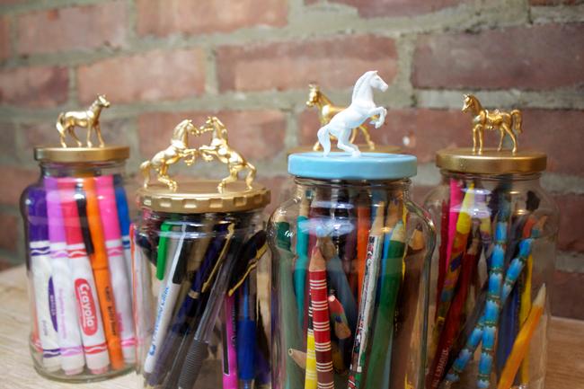 DIY: Decorative Jars