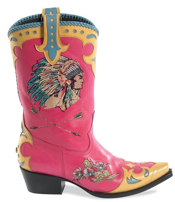 Retro Cowboy Boots | Horses & Heels
