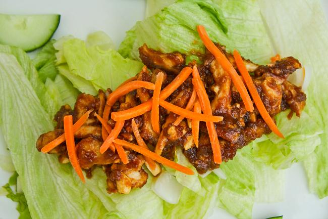 Shredded Chicken & Peanut Salad