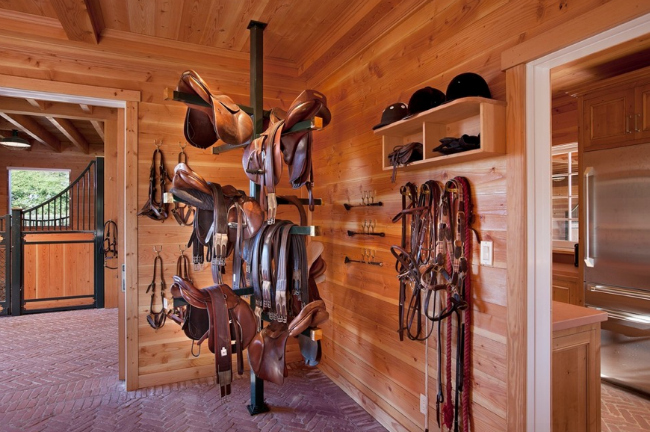 Beautiful Tack Room Inspiration