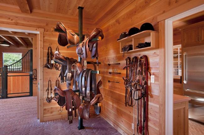 Beautiful Tack Room Inspiration