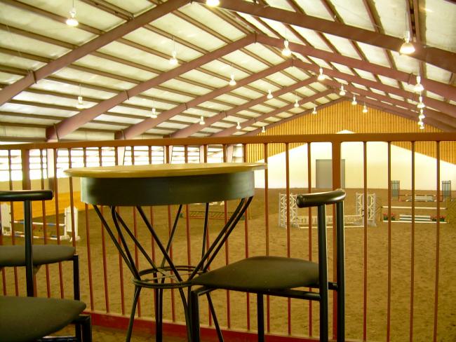 Bridlebourne Arena Overlook
