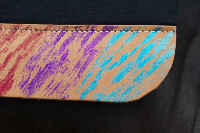 Close Up - Glittery Best Ever Saddle Pad