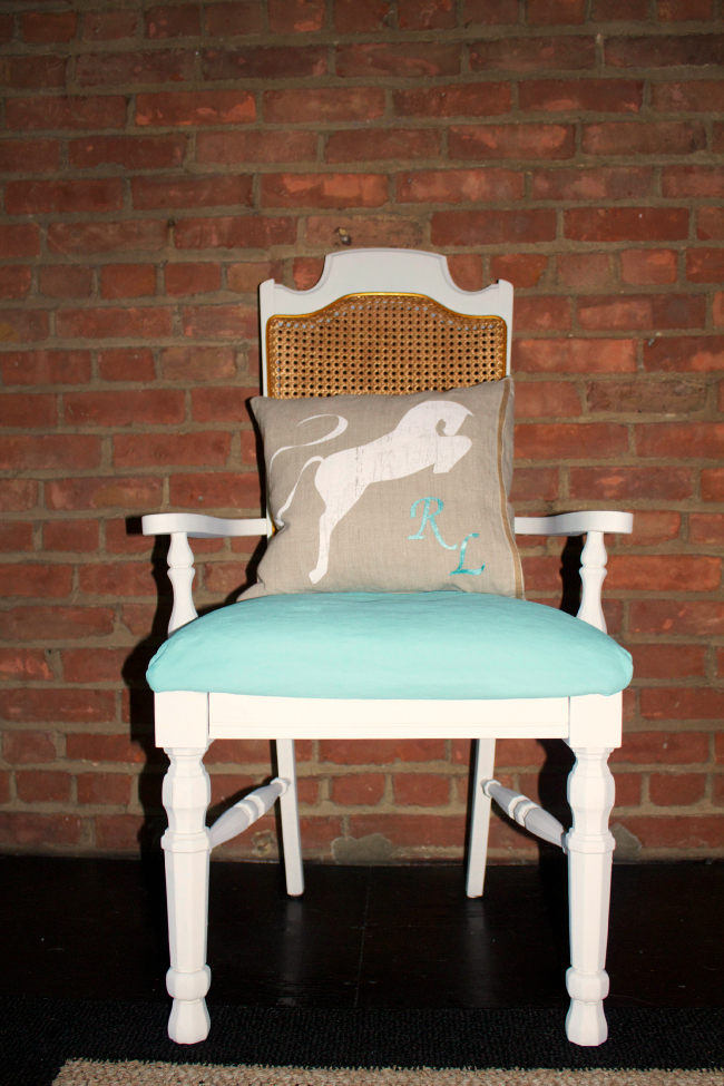 Equestrian Style Chair