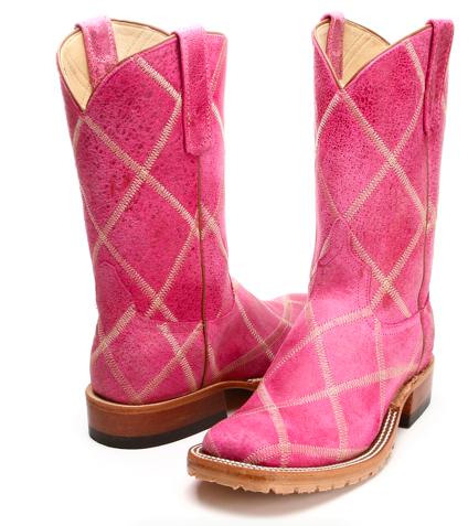Pink Anderson Bean Cowboy Boots