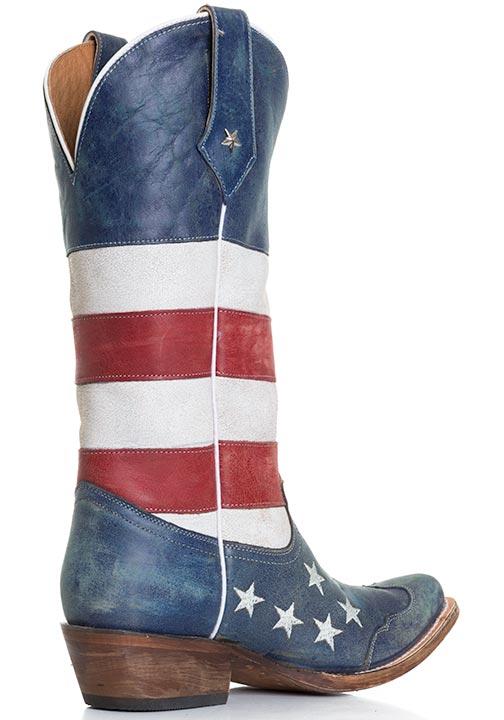 American Flag Womens Cowboy Boots
