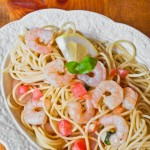 Garlicky Shrimp Pasta