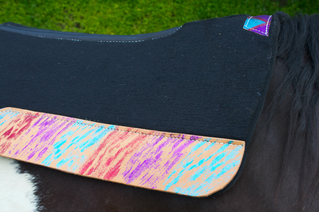 Side Glittery Best Ever Saddle Pad
