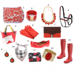 26 Red Items for the Horse & Rider