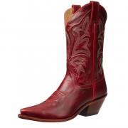 Red Justin cowboy boot classics