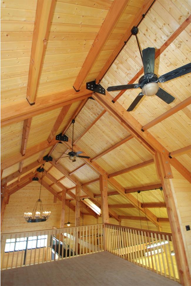 Upstairs of Eads barn, very spacious