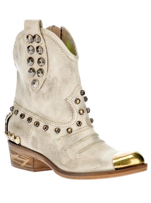 Baldan Studded Cowboy Boots