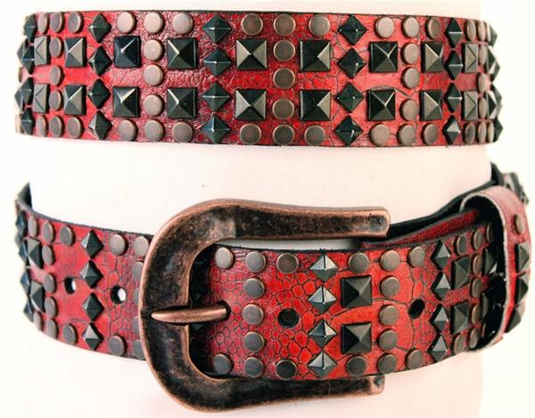 Black & Red Kippys belt