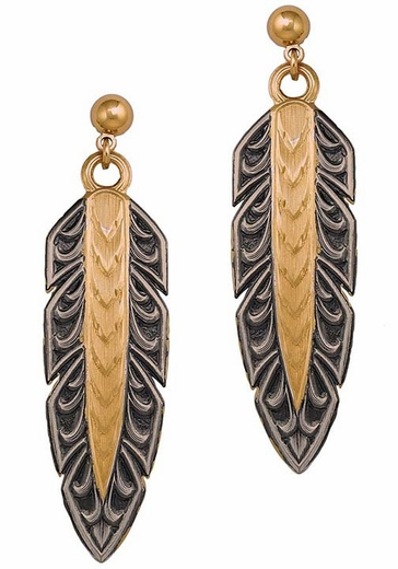 Montana Silversmiths Hawk Earrings