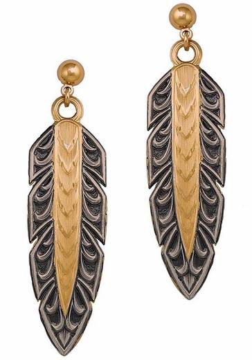 Montana Silversmiths Hawk Earrings