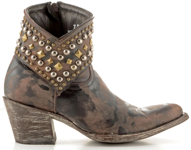 Studded Footwear for Fall