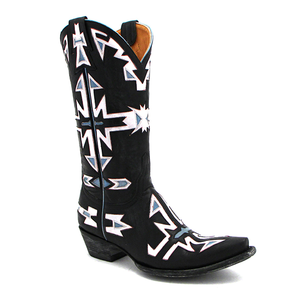 Old Gringo Navajo Inlay Boots